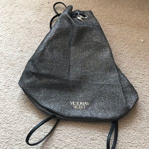 Victoria Secret Backpack Pewter Gray